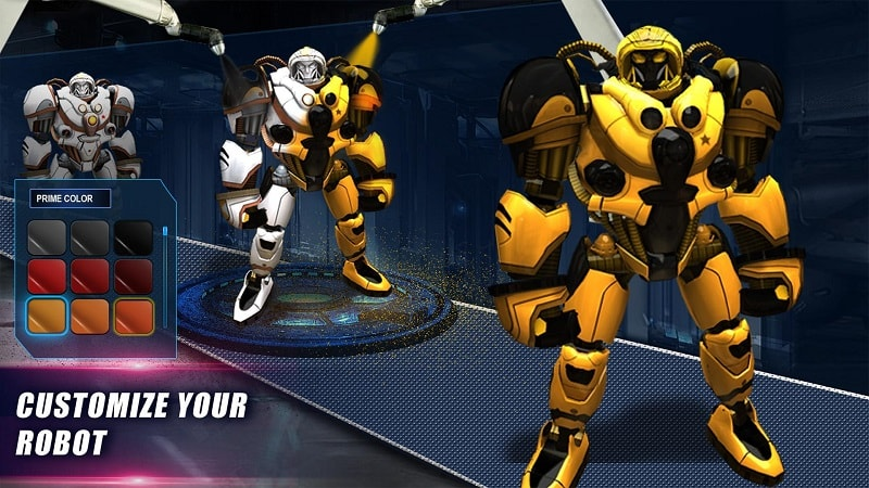 Real Steel World Robot Boxing mod free