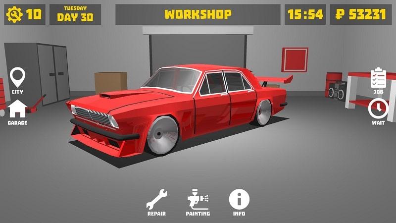 Retro Garage mod