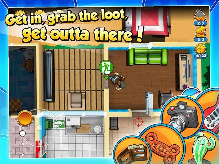 Robbery Bob 2 Double Trouble mod apk