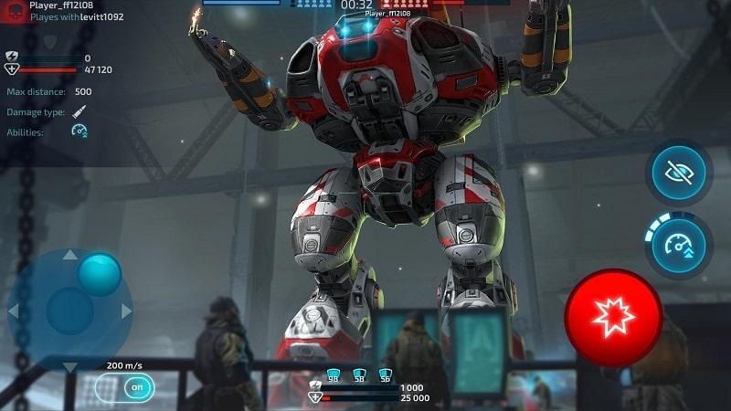 Robot Warfare mod free