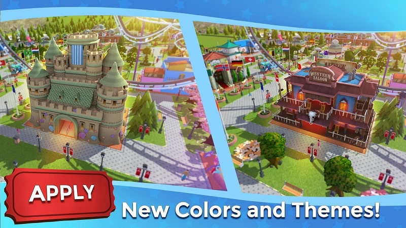 RollerCoaster Tycoon Touch mod free