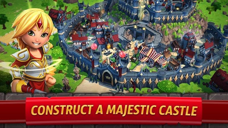 Royal Revolt 2 mod free