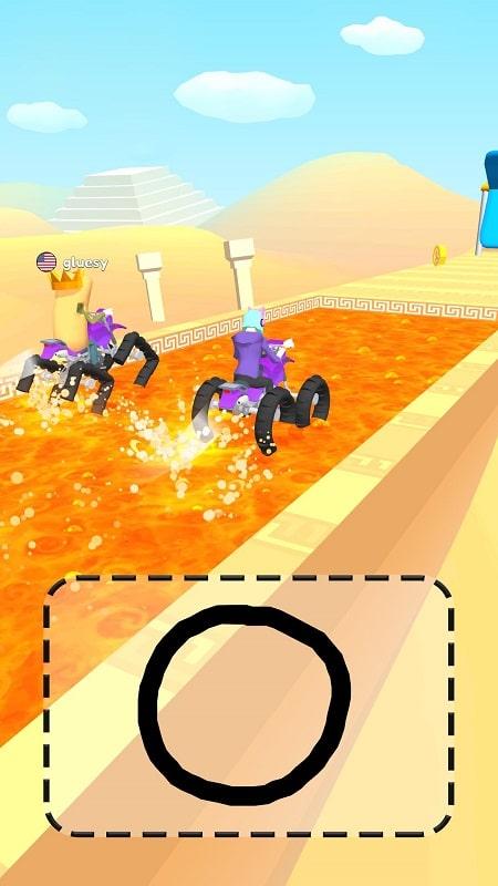 Scribble Rider mod