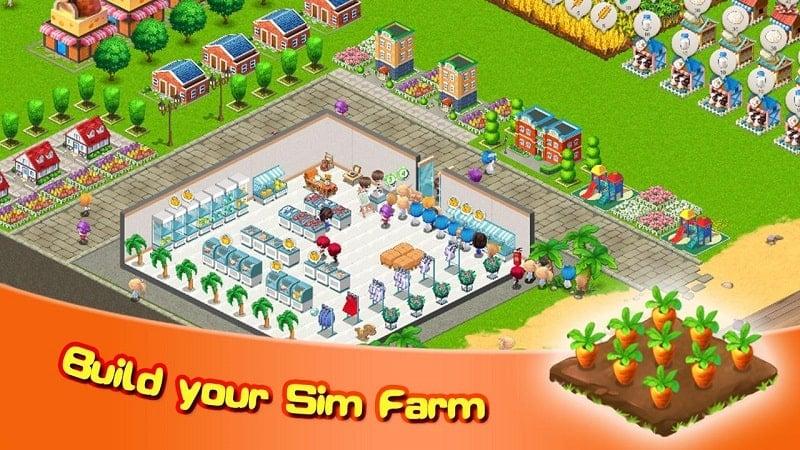 Sim Farm mod apk