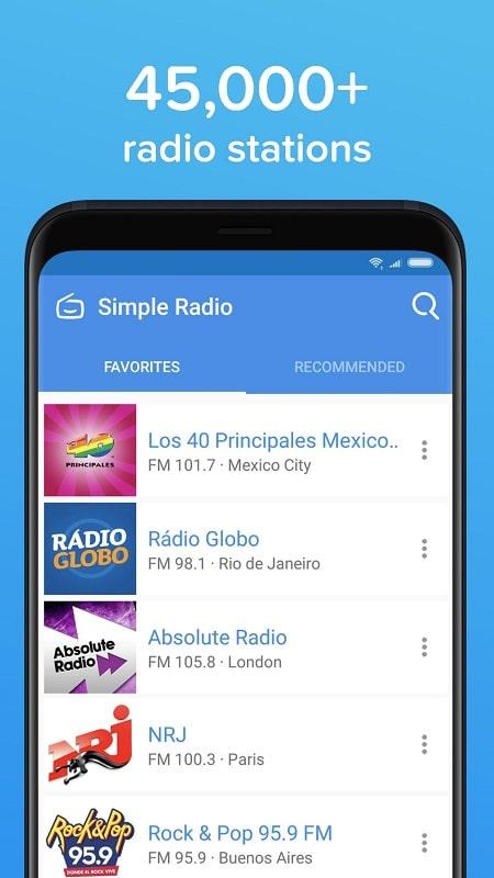 Simple Radio mod android