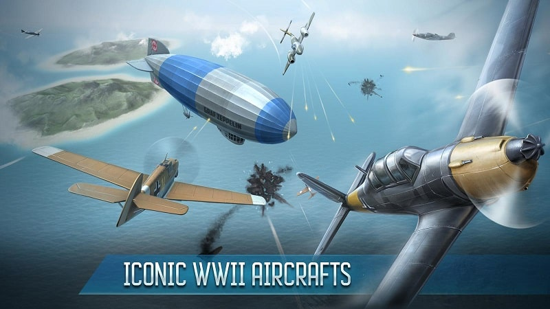 Sky Baron War of Nations mod android