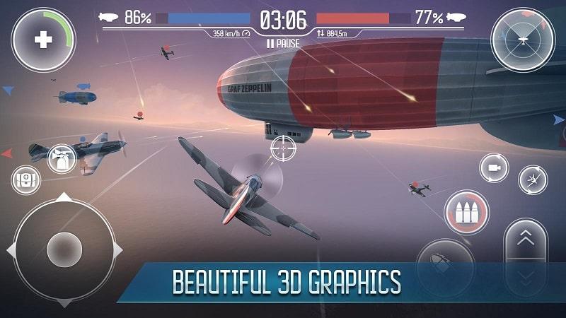Sky Baron War of Nations mod download