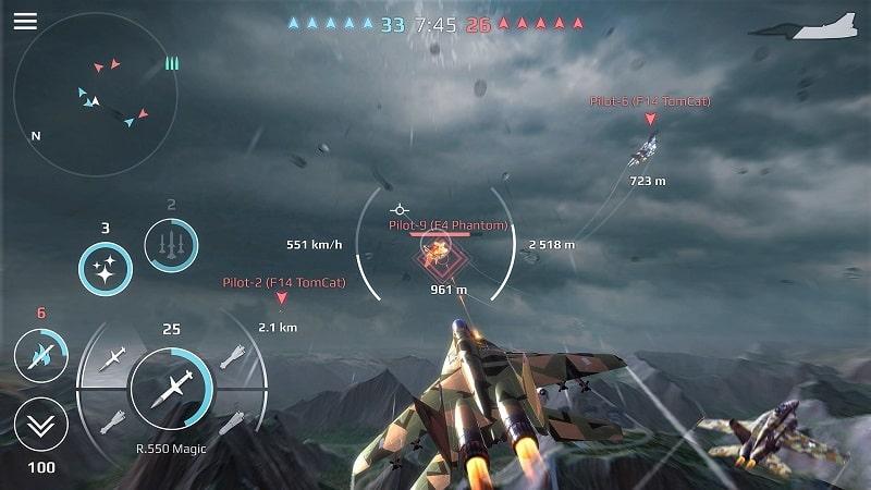 Sky Combat mod