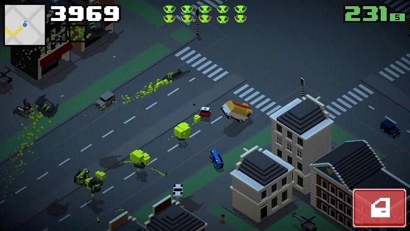 Smashy Road Wanted 2 mod android