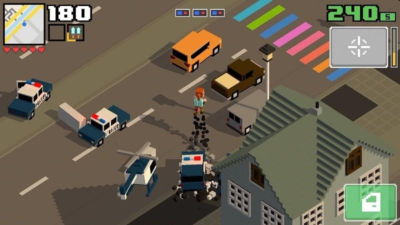 Smashy Road Wanted 2 mod