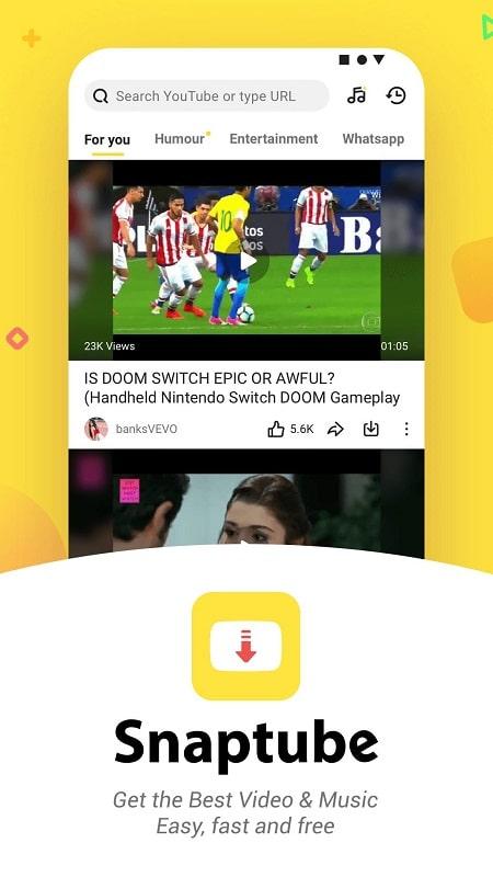 SnapTube mod apk