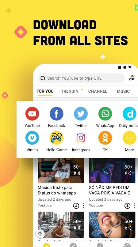 SnapTube mod free
