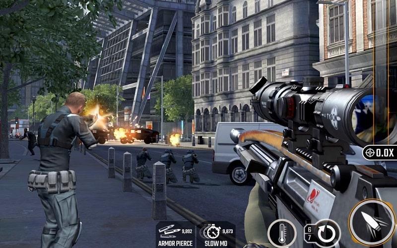 Sniper Strike mod