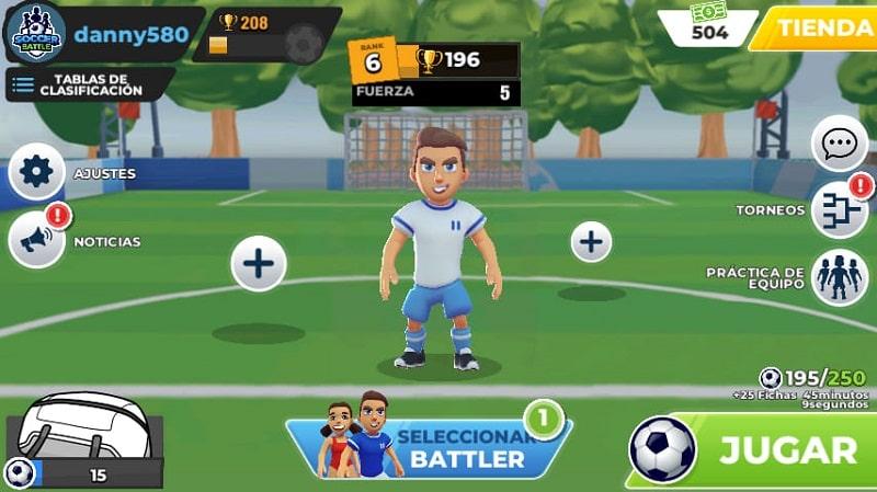 Soccer Battle 1