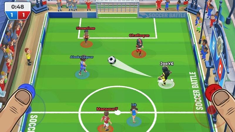 Soccer Battle apk
