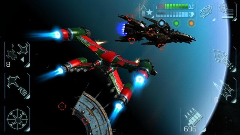 Space Commander apk mod