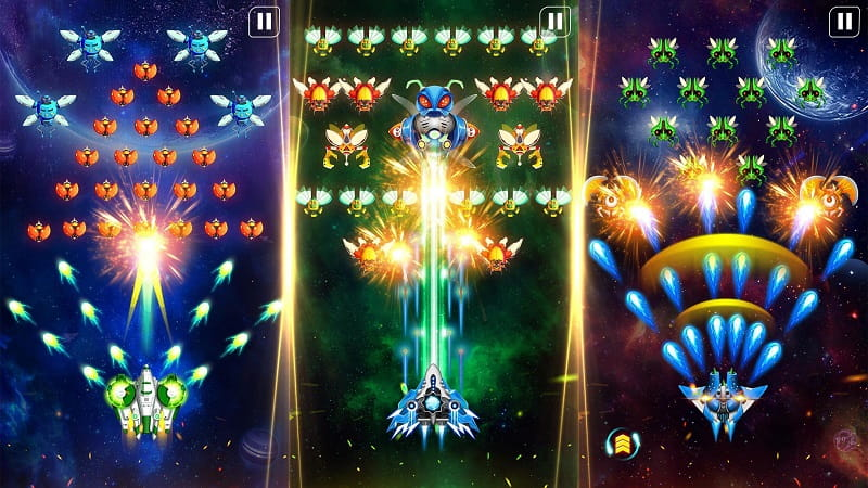 Space Shooter mod android