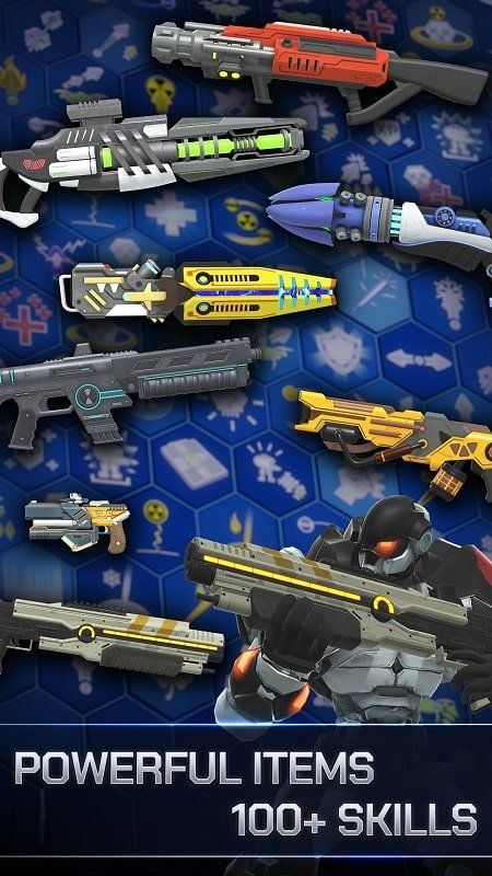 Spacelanders Sci Fi Shooter mod android