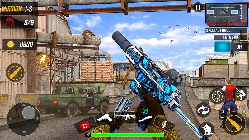 Special OPS Survival Battleground mod apk