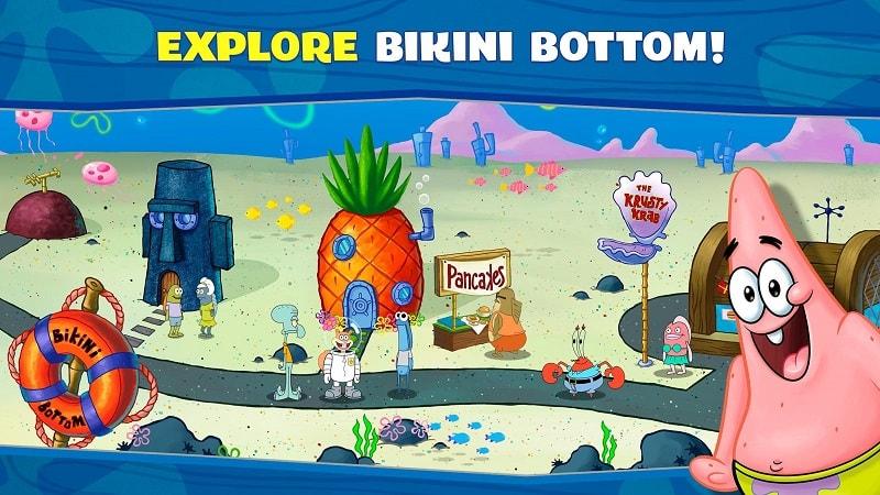 SpongeBob Krusty Cook Off mod download
