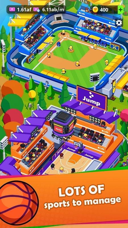 Sports City Tycoon mod apk