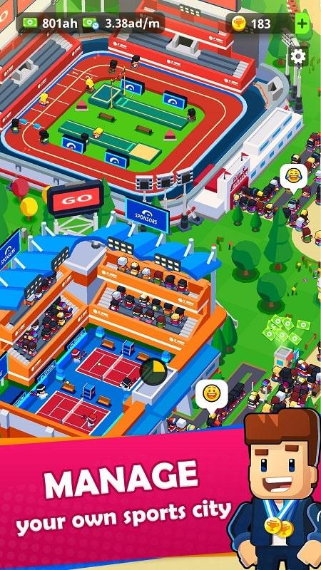 Sports City Tycoon mod
