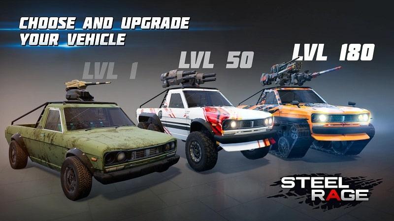 Steel Rage mod download