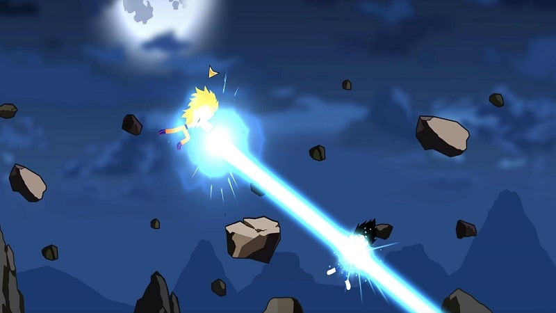 Stickman Fighter Dragon Shadow mod apk free