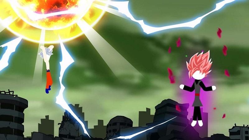 Stickman Fighter Dragon Shadow mod free