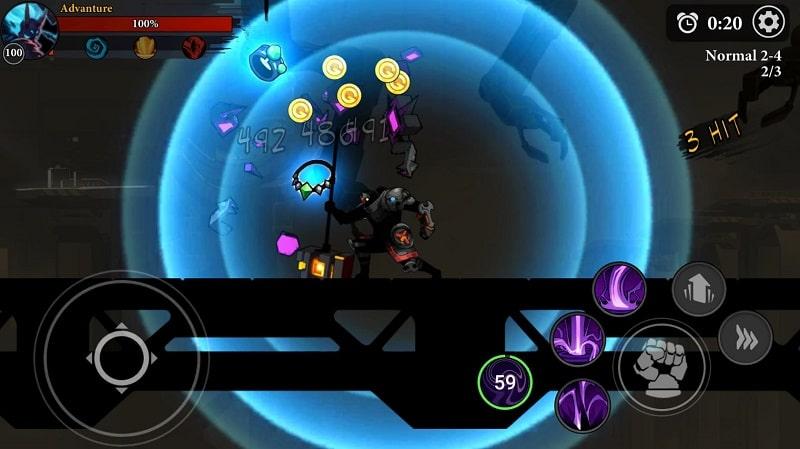 Stickman Master Shadow Legends mod download