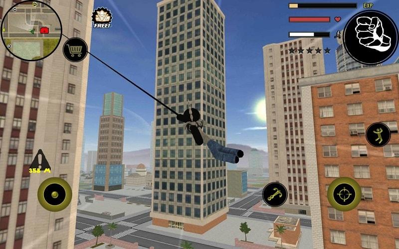 Stickman Rope Hero mod download