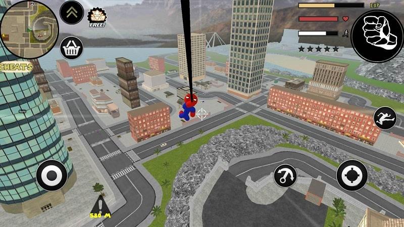 Stickman Spider Rope Hero mod apk
