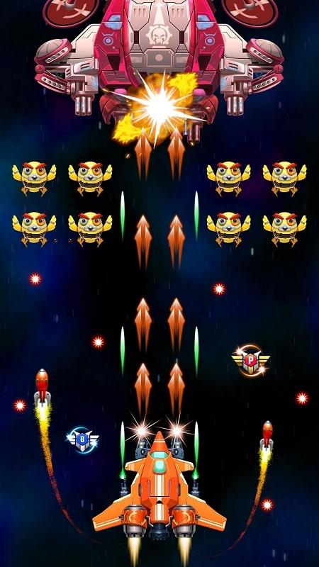 Strike Galaxy Attack mod apk