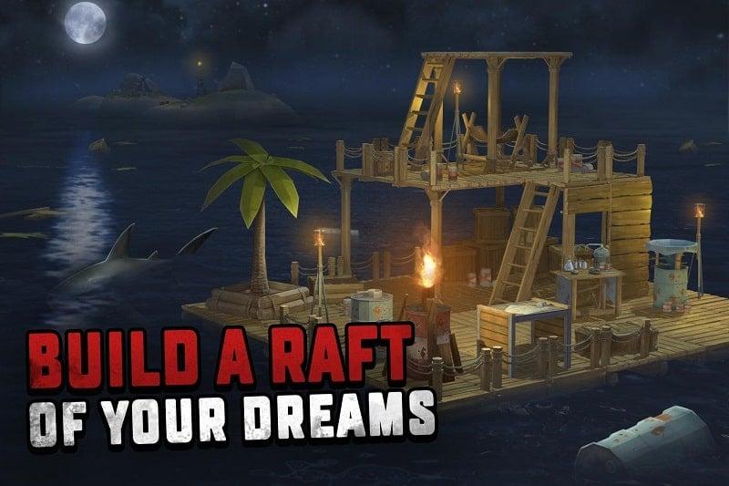 Survival on Raft Ocean Nomad mod download