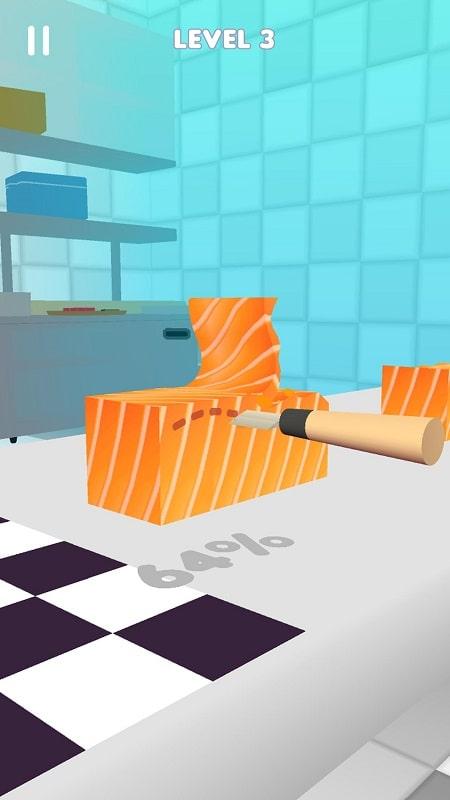 Sushi-Roll-3D-mod-free