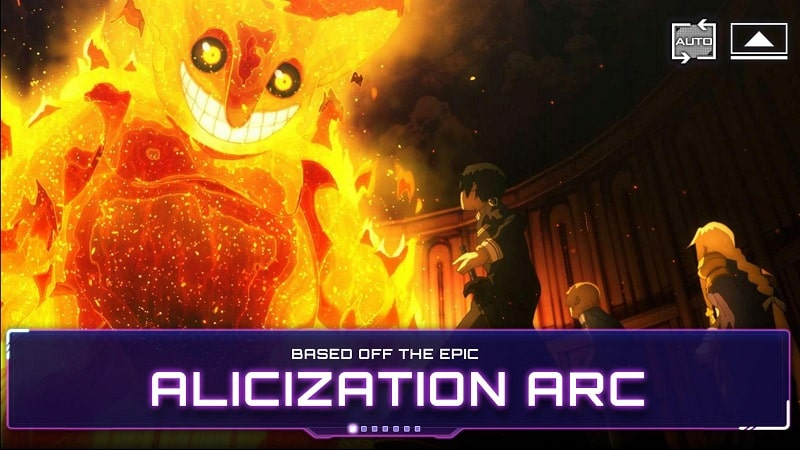 Sword Art Online Alicization Rising Steel mod apk free