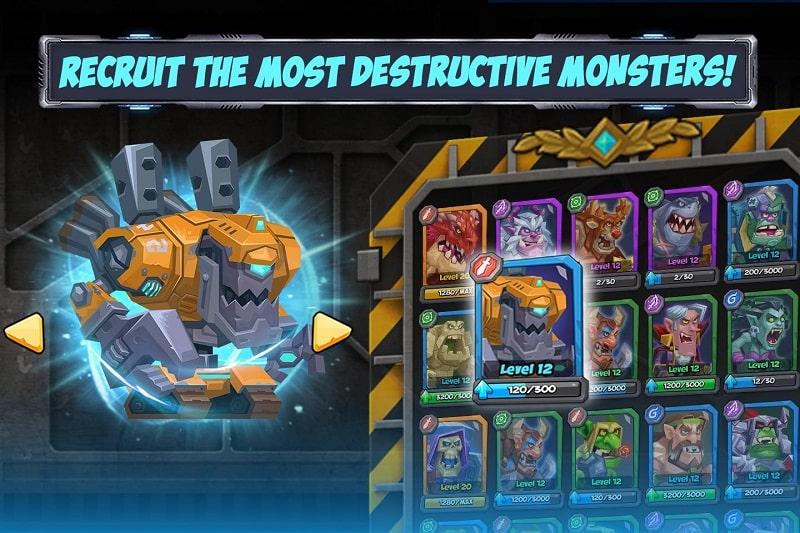 Tactical Monster Rumble Arena mod apk