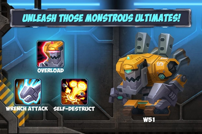 Tactical Monster Rumble Arena mod free