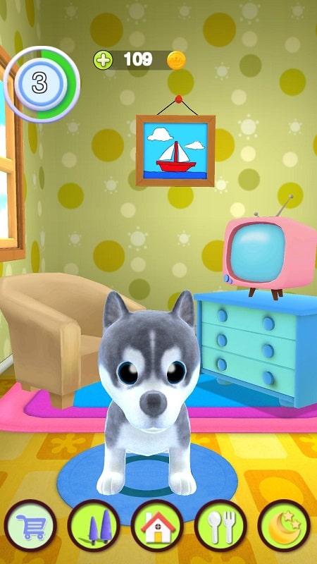 Talking Puppy mod apk free