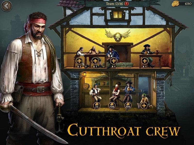 Tempest Pirate Action RPG mod apk free