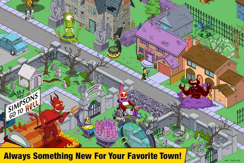 The Simpsons Tapped Out mod download