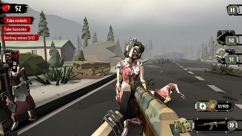 The Walking Zombie 2 mod