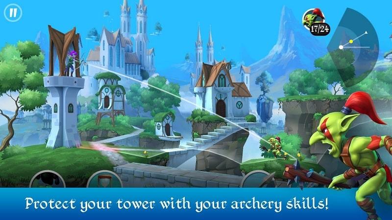 Tiny Archers mod apk