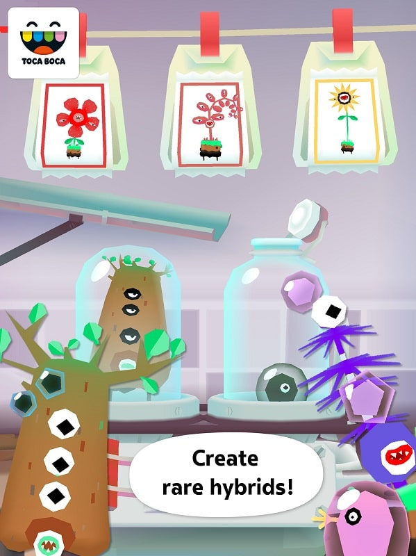 Toca-Lab-Plants-mod-android