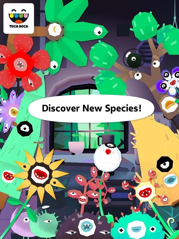 Toca-Lab-Plants-mod-download