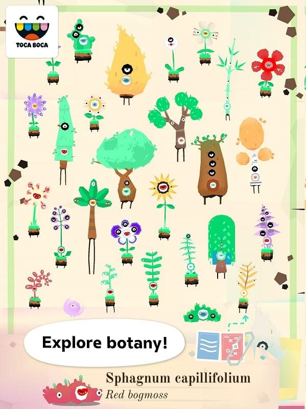 Toca-Lab-Plants-mod-free