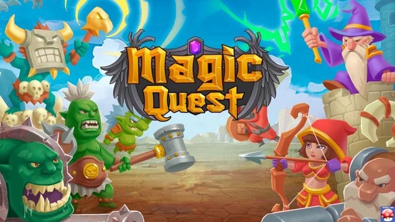 Tower-Defense-Magic-Quest