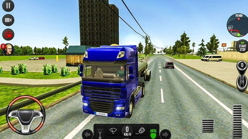 Truck Simulator 2018 Europe mod android