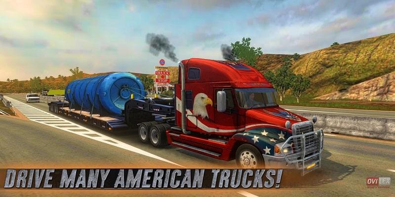 Truck Simulator USA mod download