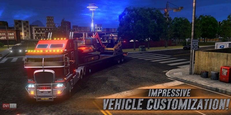 Truck Simulator USA mod free